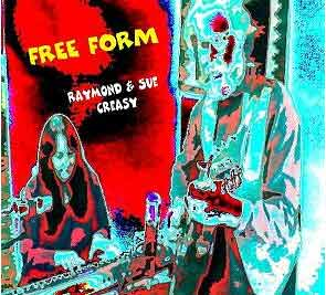 Cover for Free Form -photo enhancement by Sue Creasy